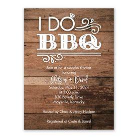 Cheap Bridal Shower Invitations: I Do BBQ Bridal Shower Invitation