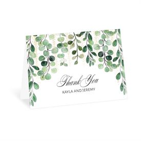 Wedding Thank You Cards: Under the Trees Thank You Card