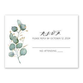 Wedding Response Cards: Eternity Response Card