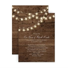 Reception Only Wedding Invitations: 