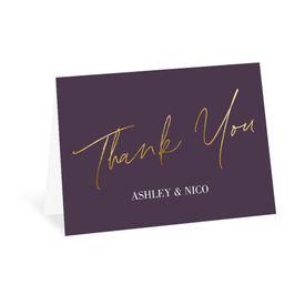 Wedding Thank You Cards: Finally - Thank You Card