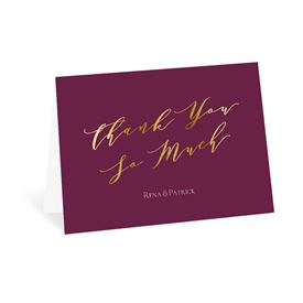 Wedding Thank You Cards: Happily in Love - Thank You Card