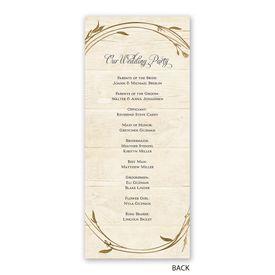 Happily - Wedding Program