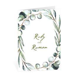 Wedding Thank You Cards: Fresh Cut Thank You Card