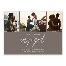 Newly Engaged Engagement Announcement