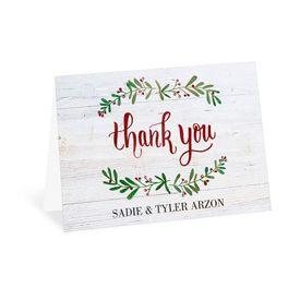 Wedding Thank You Cards: The Season Thank You Card