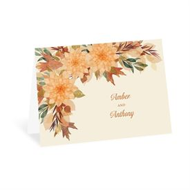 Wedding Thank You Cards: Fall in Love Thank You Card