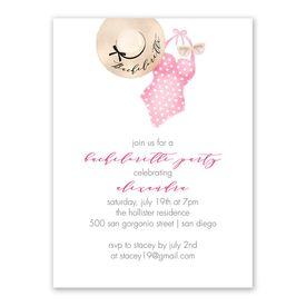 The Essentials Bachelorette Party Invitation