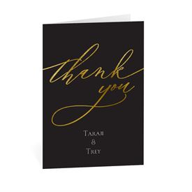 Wedding Thank You Cards: Just Love Thank You Card