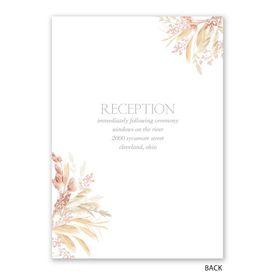 Boho Beauty - Invitation with Free Response Postcard