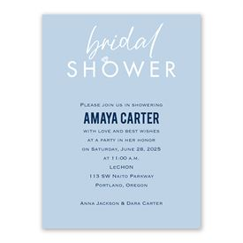 Bridal Shower Invitations: With this Ring Bridal Shower Invitation