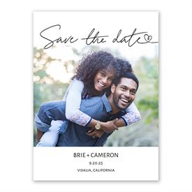 All My Heart Save the Date