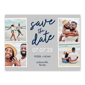 Save the Dates: Take a Picture Save the Date