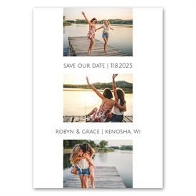 Photo Blocks - Save the Date Magnet
