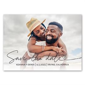 My Love - Save the Date Magnet