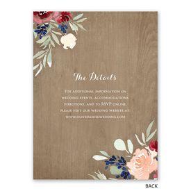 Natural Blooms - Reception Invitation