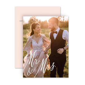 Reception Only Wedding Invitations: Always Mr and Mrs Reception Invitation
