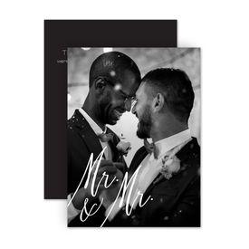 Reception Only Wedding Invitations: Always Mr and Mr Reception Invitation