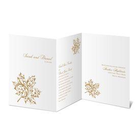 "Elegant Wedding Invitations: Autumn""s Grace Invitation"