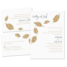 Lovely Leaves - Separate and Send Invitation