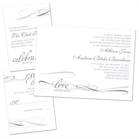 Everlasting Love - Separate and Send Invitation