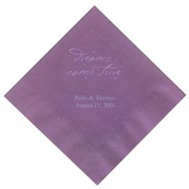 Purple Dinner Napkin