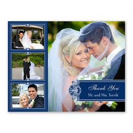 Photo Delight - Eclipse - Photo Thank You Card and Envelope