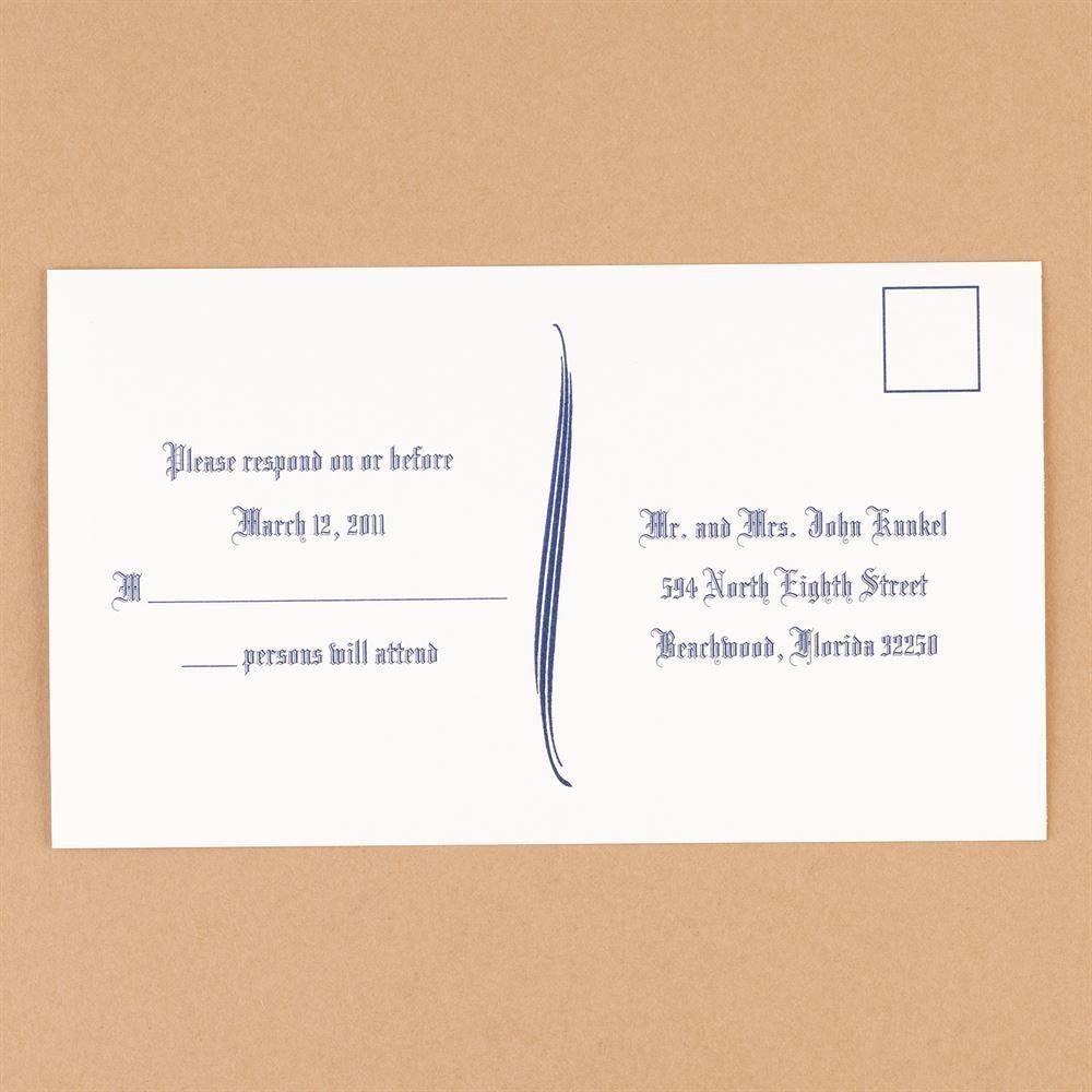 Bright White Response Postcards Ann S